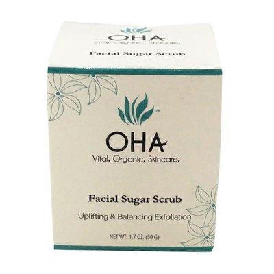Health Aging Organic Facial Sugar Scrub