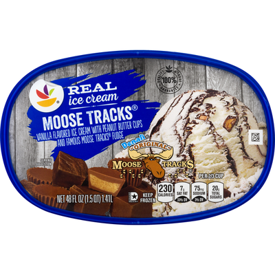 SB Ice Cream, Moose Tracks