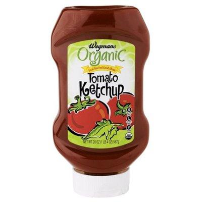 Wegmans Organic Food You Feel Good About Tomato Ketchup