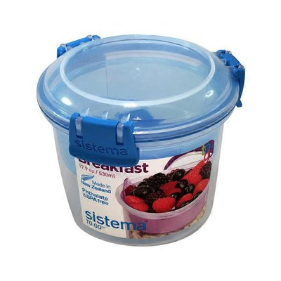 Sistema Breakfast To Go Plastic Container