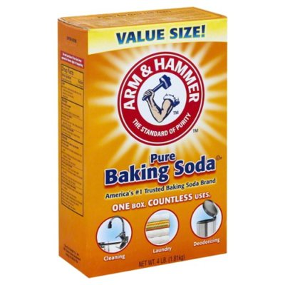 Arm & Hammer Pure Baking Soda, 4