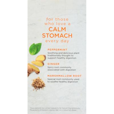 Bigelow Benefits Ginger & Peach Herbal Tea Tea Bags
