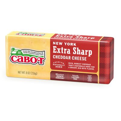 Cabot Cheese Cheese, NY Extra Sharp Yellow Cheddar Bar