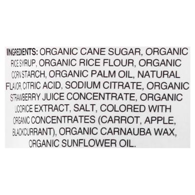 YumEarth Licorice, Organic, Strawberry