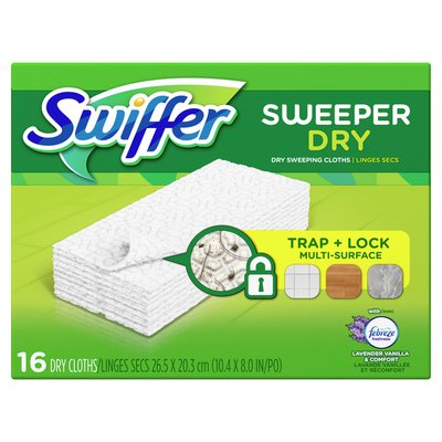 Swiffer Sweeper Dry Sweeping Pad Multi Surface Refills for Dusters floor mop,