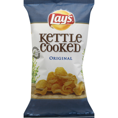 Lay's Kettle Cooked Original Potato Chips