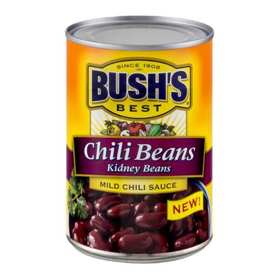 Bush's Best Kidney Beans in a Mild Chili Sauce