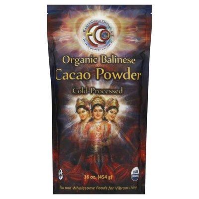 Earth Circle Organics Cacao Powder, Organic Balinese