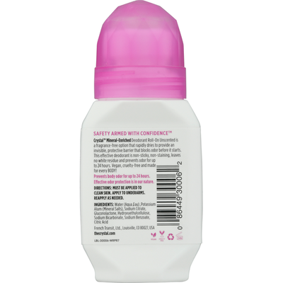 Crystal Deodorant, Unscented