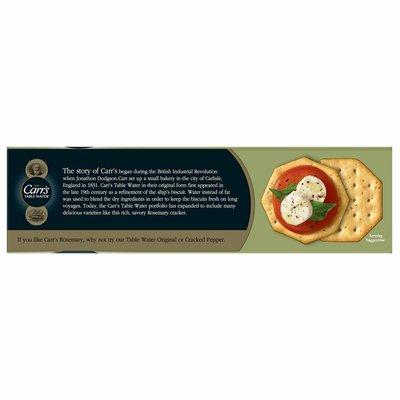 Kellogg's Carr's Crackers, Baked Snack Crackers, Rosemary