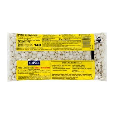 Goya Baby Lima Beans, Dry