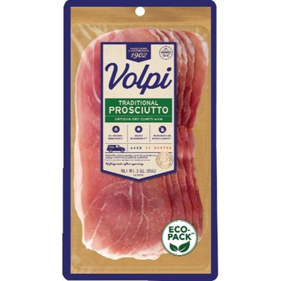 Volpi Ham, Traditional Prosciutto, Artisan Dry Cured