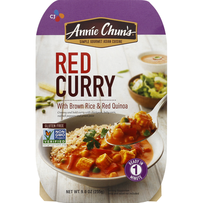 Annie Chuns Red Curry, with Brown Rice & Red Quinoa