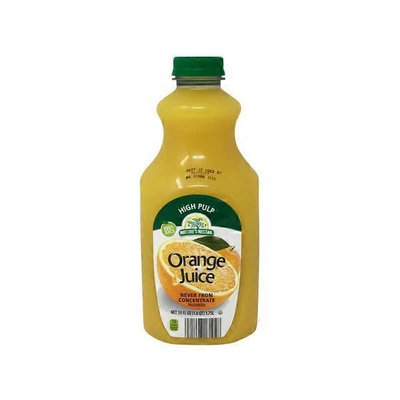 Nature's Nectar 100% Pure Squeezed Orange Juice Not From Concentrate With Pulp