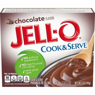 Jell-O Chocolate Cook & Serve Pudding & Pie Filling Mix