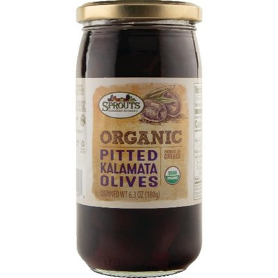 Sprouts Organic Pitted Kalamata Olives