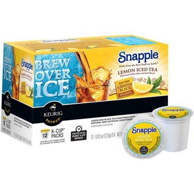 Snapple Lemon Iced K-Cup Packs Tea