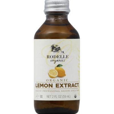 Rodelle Lemon Extract, Organic
