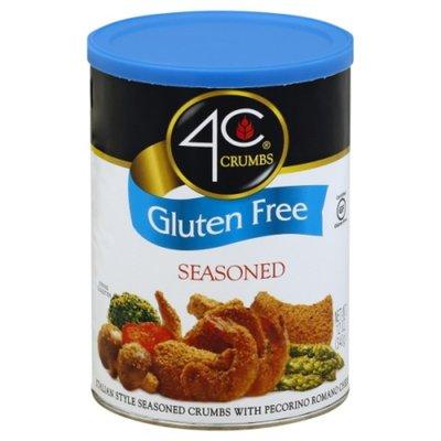 4C Crumbs, Gluten free, Seasoned