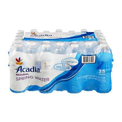 Acadia Natural Spring Water