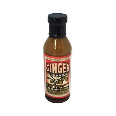Kerry Wood Ginger Carrot Salad Dressing and Marinade