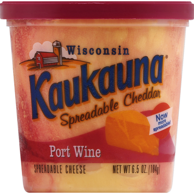 Kaukauna Port Wine Spreadable Cheese