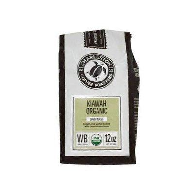 Charleston Coffee Roasters Coffee, Organic, Whole Bean, Dark Roast, Kiawah