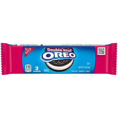 Oreo Double Stuf Chocolate Sandwich Cookies - Snack Packs