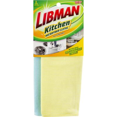 Libman Kitchen Microfiber Cloths - 2 CT