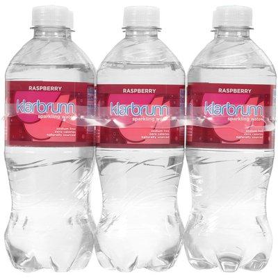 Klarbrunn Raspberry Sparkling Water