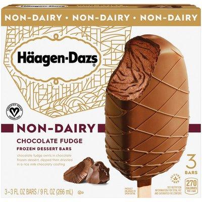 Haagen-Dazs Non-Dairy Chocolate Fudge Frozen Dessert Bars