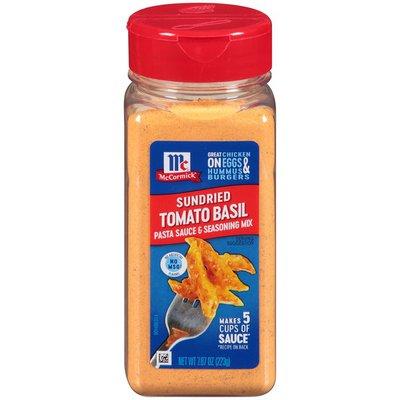 McCormick®  Sundried Tomato Basil Pasta Sauce & Seasoning Mix