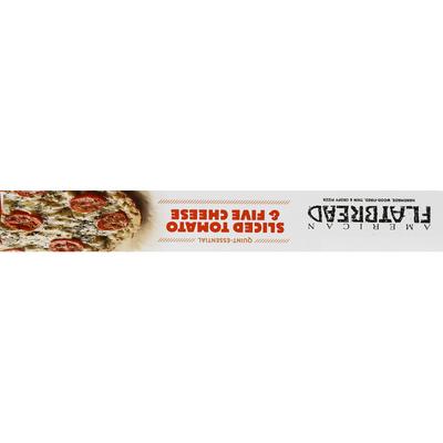 American Flatbread Pizza, Sliced Tomato & Five Cheese