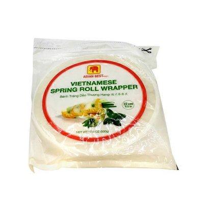 "Asian Best Vietnamese Spring Roll Wrapper, 8.5"""