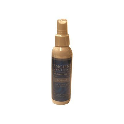 Ancient Minerals Magnesium Oil Topical Spray Sensitive With Allantoin, Aloe And Chamomile