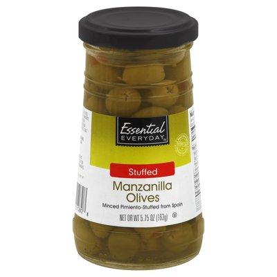 Essential Everyday Pimento Stuffed Manzanilla Olives