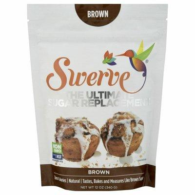 Swerve Sweetener, Zero Calories, Natural, Brown