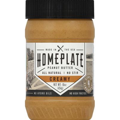 Homeplate Peanut Butter, Creamy