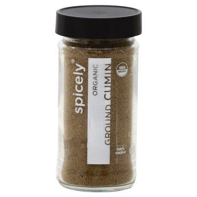 Spicely Organics Cumin, Organic, Ground