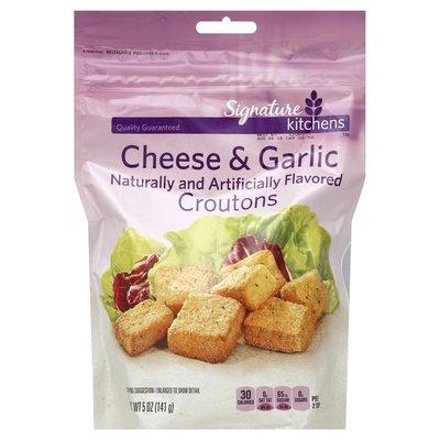 Signature Kitchens Croutons, Cheese & Garlic
