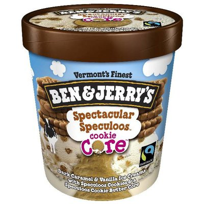 Ben & Jerry's Ice Cream Spectacular Speculoos Cookie Core