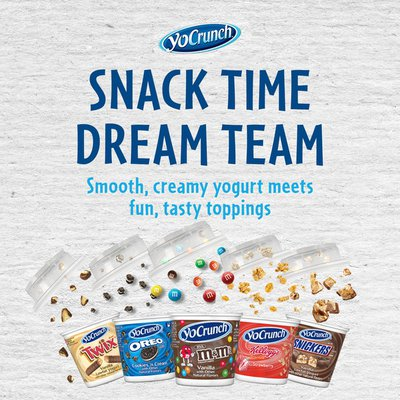 YoCrunch Vanilla Lowfat Yogurt with M&M's