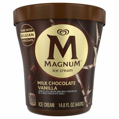 Magnum Ice Cream Tub Milk Chocolate Vanilla