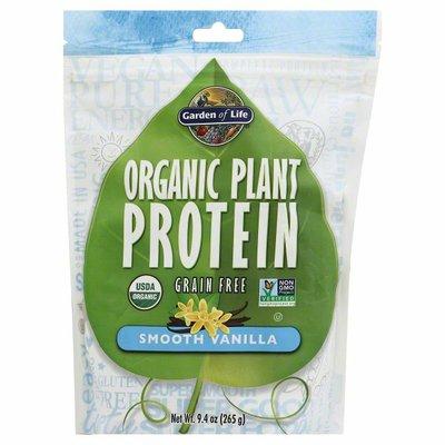 Garden of Life Plant Protein, Organic, Smooth Vanilla