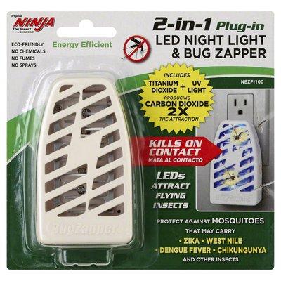 Ninja LED Night Light & Bug Zapper, 2-in 1 Plug-In