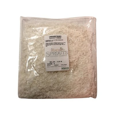 Dried Unsweetened Coconut Thread, Package