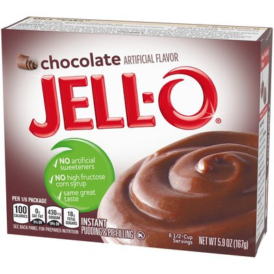 Jell-O Chocolate Instant Pudding & Pie Filling Mix
