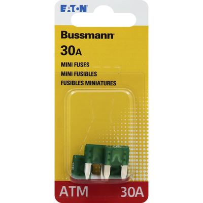 Bussmann Fuses, ATM, 30A, Mini