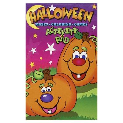 Oriental Trading Activity Pad, Halloween