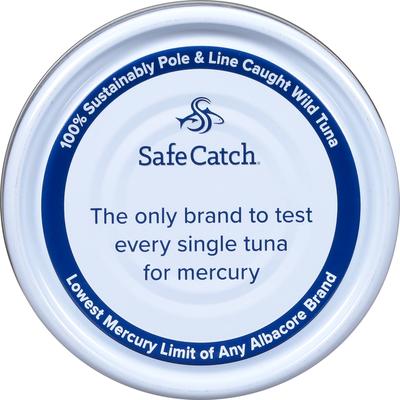 Safe Catch Tuna, Albacore, Wild